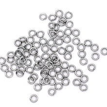 LASPERAL Jump Ring 500PCs Stainless Steel Open Jump Rings For Jewelry Making 5mm Dia. Split Rings DIY Jewelry Making Accessories(China)