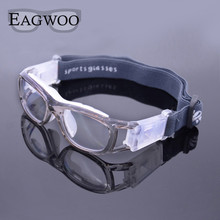 Eagwoo Children outdoor sports basketball football glasses volleyball tennis eyewear glasses goggles myopic lens mirror frame(China)