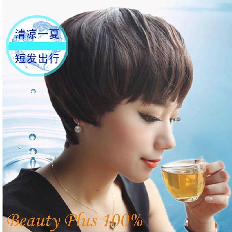 New Arrive Short Wigs For Black Women Celebrity Synthetic Bob Wigs With Bangs Synthetic Hair Heat Resistant Cheap Bob Wigs<br><br>Aliexpress