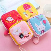Women Lady Cotton Full Dots Sanitary Napkin Bags Sanitary Pad Towel Storage Bag Travel Outdoor Holder Bags Purse Organizer #45