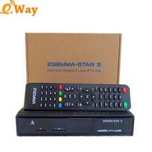 5pcs Zgemma Star S Satellite Receiver DVB-S2 tv Media player linux Enigma2 system upgraded from Cloud ibox 2 plus set top box