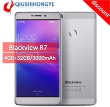 [discount]Blackview R7 4G Mobile Phone 5.5 inch FHD MTK6755 OctaCore Android 6.0 4GB RAM 32GB ROM 13MP Fingerprint ID Smartphone