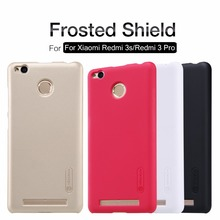 Buy Redmi 3 pro Nillkin frosted PC hard case xiaomi redmi 3s (5.0'') hard plastic back phone cover Gift Screen Protector for $7.22 in AliExpress store