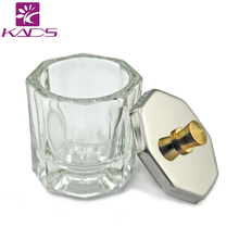 KADS 1pc Crystal Glass Dappen Dish / Lid Bowl Cup Crystal Glass Dish Nail Art Tools Acrylic Nail Art Equipment Mini Bowl Cups(China)