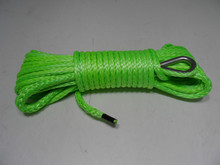 1/4*50ft atv utv winch line,towing rope for offroad parts,amraid kevlar fiber winch cable for towing