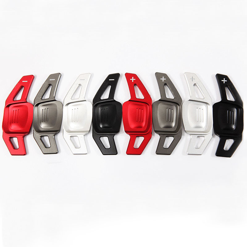 Aluminum Steering Wheel DSG Paddle Extension Shifter Sticker Fit  for Golf 7 Mk7 VII PADDLE shift paddle<br>