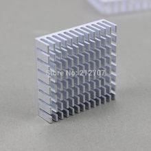 500PCS Aluminum CPU VGA Card Cooling Cooler Heat Sink Memory Chipset Heatsink 40x40x10mm