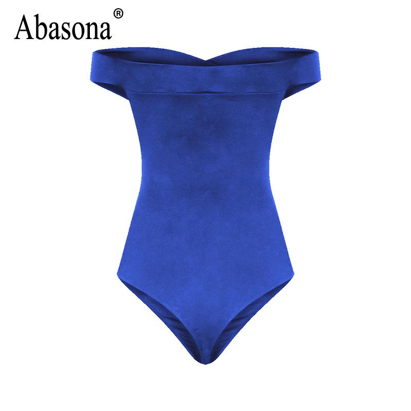 Abasona Bodysuit Women Body Suits For Women Sexy Romper Body Top Womens Sexy Off Shoulder Bodysuits Casual Beach Wear Playsuits 10