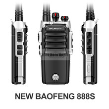 Baofeng BF-888S Professional Walkie Talkie 4th BF 888S 5W Power UHF 400-480MHz Portable Two Way Radio Push To Talk PTT
