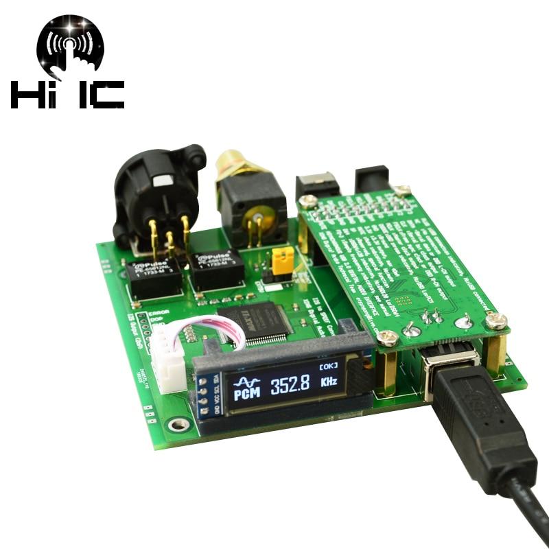ES9038Q2M NE5532 OPA1612 AD8397 decoder DAC asynchronous USB I2S input
