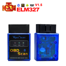 A+ Quality Super ELM 327 MINI ELM327 V1.5 Bluetooth PIC18F25K80 chip OBD2 OBDII Code Reader Diagnostic-tool auto OBD 2 Scanner