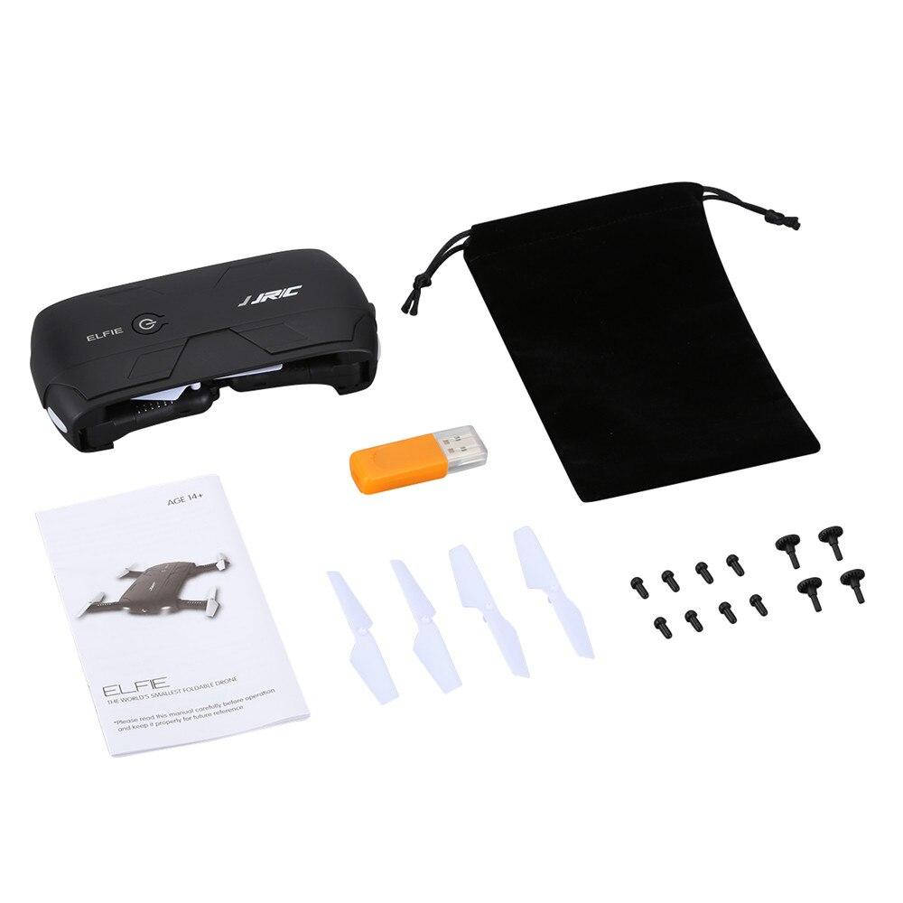 JJRC H37 ELFIE Foldable Pocket Selfie Drone WiFi FPV Phone Control Quadcopter Altitude Hold G-Sensor Mode 720P HD Selfie Drone 11