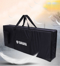 76 key professional Instrument keyboard piano bag thickened cover case double shoulder belt for electronic organ(China)