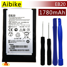 Aibike New original mobile phone battery EB20 For Motorola Droid RAZR XT910 XT912 SNN5899 Battery 1780mAh Real Replacement(China)