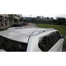 Luggage Carrier Bar Roof Rails Rack Bars For Toyota Land Cruiser FJ150 2014 2015 Accessories