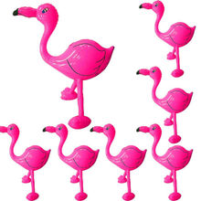 Inflatable Cartoon Aluminum Balloon Pink Flamingo Tropical Hawaiian Beach Prop Item Birthday Party Decor Childrens Toys Gift(China)