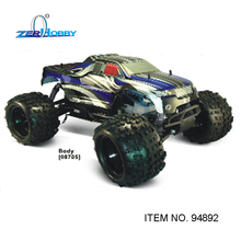 1/8 RC Car 4WD Light weight Nitro Off Road Monster Truck SH21cxp engine 94892(China)