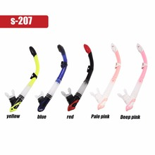 S-207 Professional 49CM Swimming Snorkel Swimming Diving Breathing Tube Dry Swimming Snorkel Breathing Tube Hot Sales(China)