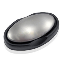 DATINGDAY Stainless Steel Soap Oval Shape Deodorize Smell from Hands Retail Magic Eliminating Odor Kitchen Bar(China)