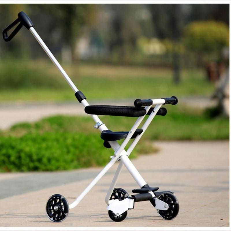 Children\'s Five-Wheeled Baby Anti Rollover Portable Folding Car Mother & Kids Activity & Gear Baby Stroller Lightweight Stroller12
