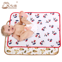 Waterproof Mattress protector baby diaper changing pad Newborn baby nappy changing mat waterproof sheet muda fraldas urine mat(China)
