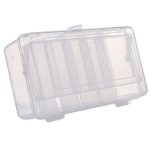 2 Tray 10 Compartments Fishing Fish Lure Box Tackle Two-Sided Storage Acrylic fishing storage boxes For Carp Pesca Accessory