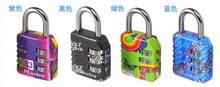 Valentine Gift 4pcs/lot MA*TER LOCK Backpack Suitcase Zinc Alloy Password Padlock,3-Digit Lock(China)