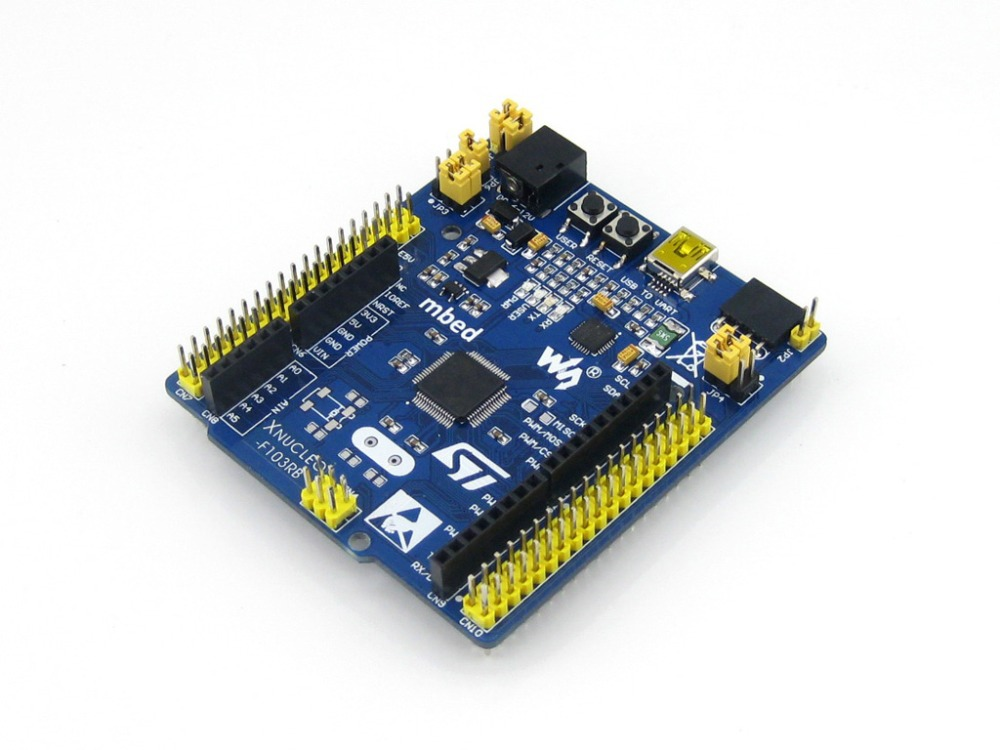 Modules STM32 STM32F103RBT6 32 Bit ARM Cortex M3 STM32 Development Board Kit Compatible with Original NUCLEO-F103RB<br><br>Aliexpress