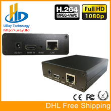 DHL Free Shipping Live video streaming encoder for IPTV live web casting | dual streams | supports ustream, Youtube,Wowza,Flash
