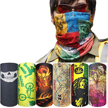 100% new Magic Headband Outdoor Sports Neck Warmer Cycling Bike Bicycle Riding Face Mask Head Scarf Scarves Bandana free ship(China)