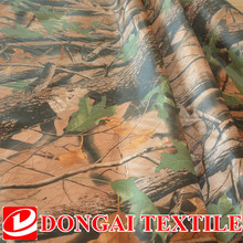 wide 150cm.the tree forest camo waterproof coating 150D Oxford fabric