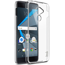 Original IMAK Ultra Thin Transparent Crystal II PC Hard Back Cover for BlackBerry DTEK60 5.5'' mobile phone cases Free shipping(China)