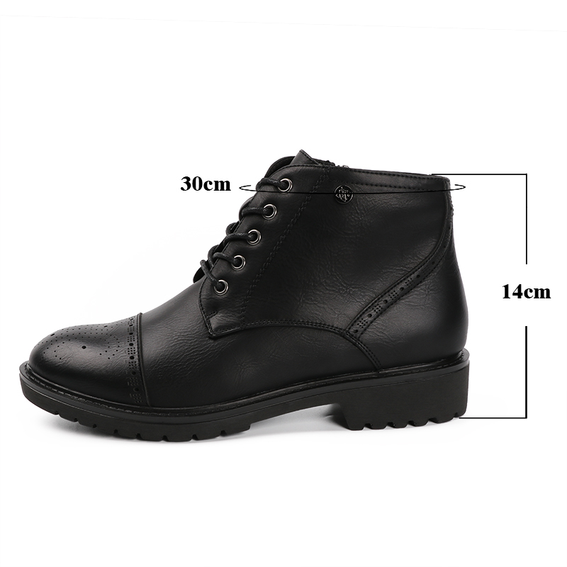 AIMEIGAO Fashion Vintage Women Ankle Boots Soft Leather Flat Shoes Comfortable Women Boots Lace Up Soft Leather Classic Shoes