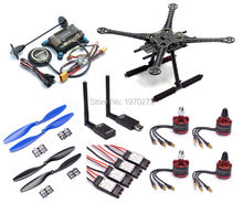 F450 450mm / 500 PCB 500mm Quadcopter Frame Kit w/ APM2.8 Controller board M8N GPS 30A Simonk esc 2212 920kv 433Mhz Telemetry(China)