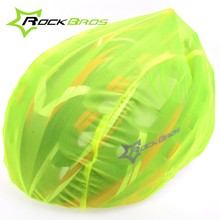 RockBros Cycling Helmet Cover Waterproof Windproof Dustproof Ultralight MTB Road Bike Bicycle Helmet Covers Rain Cover 4 Color