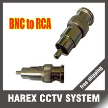 Big discount best for 10xPCS BNC Male to RCA Male Connector Adapter for CCTV DVR Coax Converter Video