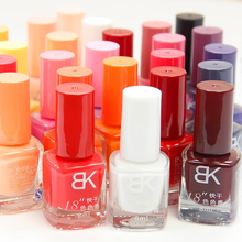 Hot Sales BK 18 seconds fast drying environmental protection Candy color Nail polish  Optional  More engaging 4 Seasons