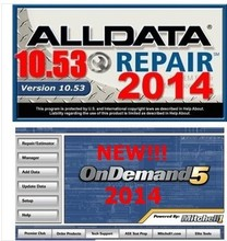 for any computers 2015alldata +2015mitchell +auto--data V3.40 with 1TB hard disk drive DHL EMS free(China)