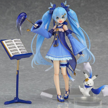 Hatsune Miku SNOW MIKU figma Snow Owl Ver PVC Action Figure(China)