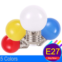 E27 LED Colorful Light Bulb Bombillas LED Screw Neon SMD2835 Global Lamp Fashion DJ Disco Party Christmas Lights 220V LED Bulbs