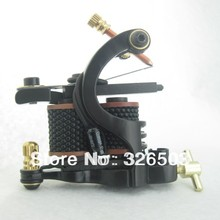 One 8 Wrap Coils Aluminum Alloy Tattoo Machine Gun For Kit Set Supply GAM06