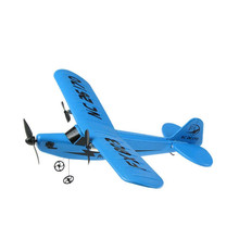 Plastic Material Remote Control Airplane Kid Model Kids Toys New Arrival Retro Sea Gull RC Airplane(China)