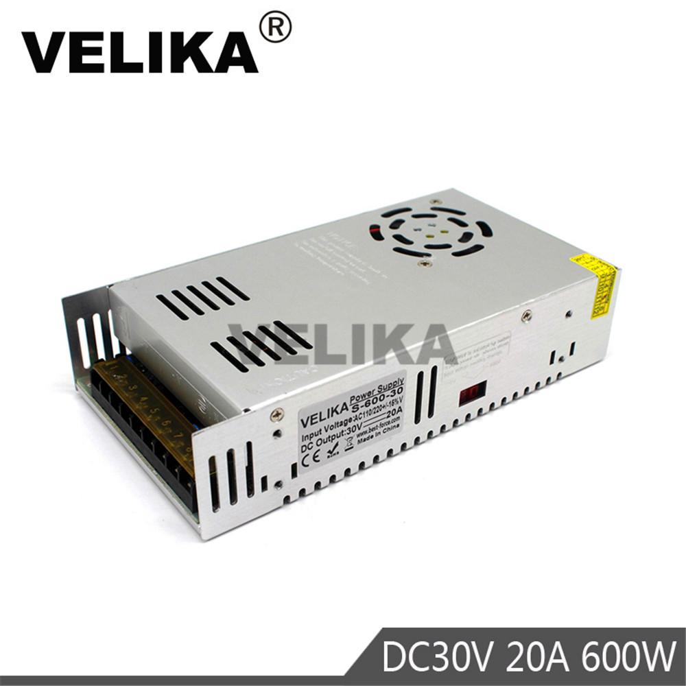 30V600W