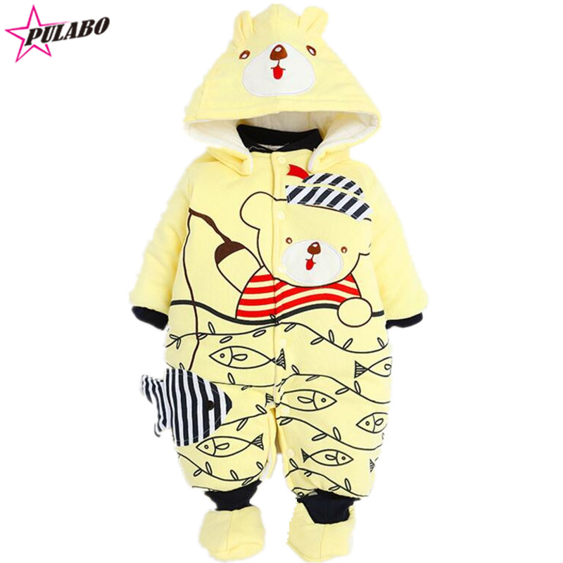 baby Rompers Clothes Baby Clothing for Newborn Baby Boy Girl Clothes Winter cotton Bear Jumpsuit Overalls Next Snowsuit Costume<br><br>Aliexpress