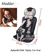 Kids Car Protection 0-4 Years Old Baby Car Seat,Portable and Comfortable Infant Safety Seat,Practical Baby Cushion 2017 Hot Sale