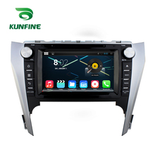 Quad Core 1024*600 Android 5.1 Car DVD GPS Navigation Player Car Stereo for Toyota Camry 2012 Radio 3G WIFI Bluetooth(China)