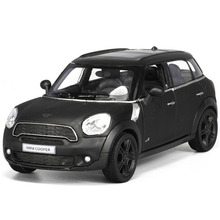 1:36 Scale Mini Cooper car styling 1/32 Alloy Diecast car model Pull Back Car  W openable doors Toys For Children brinquedos