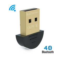 Wireless USB Bluetooth Adapter V4.0 Bluetooth Dongle Music Sound Receiver Adaptador Bluetooth Transmitter For Computer PC Laptop(China)