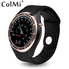 ColMi VS110 Smart Watch Android 5.1 3G WIFI GPS Pedometer Heart Rate Monitor Push Message Phone Call APP Download Smartwatch