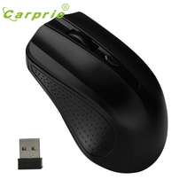 CARPRIE 2.4G Mice Optical Mouse Cordless USB Receiver PC Computer Wireless For Laptop BK Mar7 MotherLander(China)